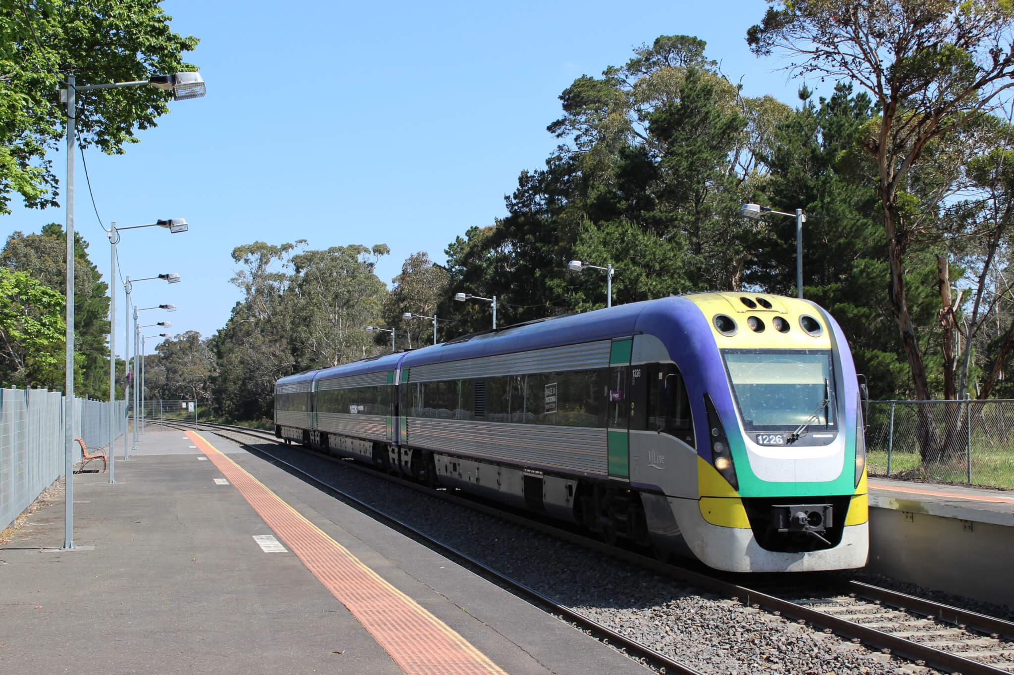 Train in Australia