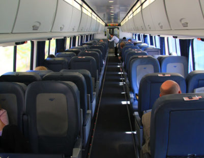 Amtrak Announces Refurbishment of Acela Express Trains on NEC