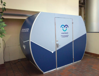 Amtrak Installs Mamava Lactation Suites in Five Major Stations in 2018