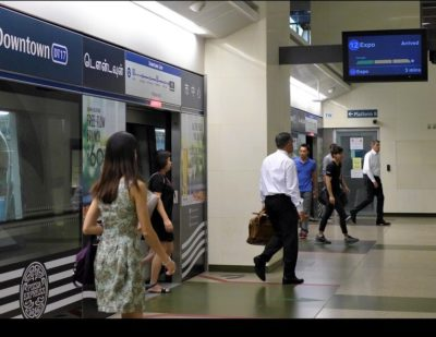 Singapore: Bombardier to Install Real-Time Passenger Load Display on Downtown Line