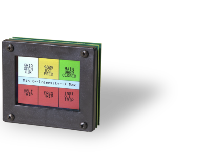 LCD Indicator Light Panel: Monitor Locomotive Health