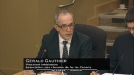 RAC Acting President-Gerald Gauthier