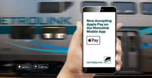 California: Metrolink Lets App Users Buy Tickets with Apple Pay®
