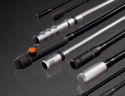 pei tel Gooseneck Microphones for Trains
