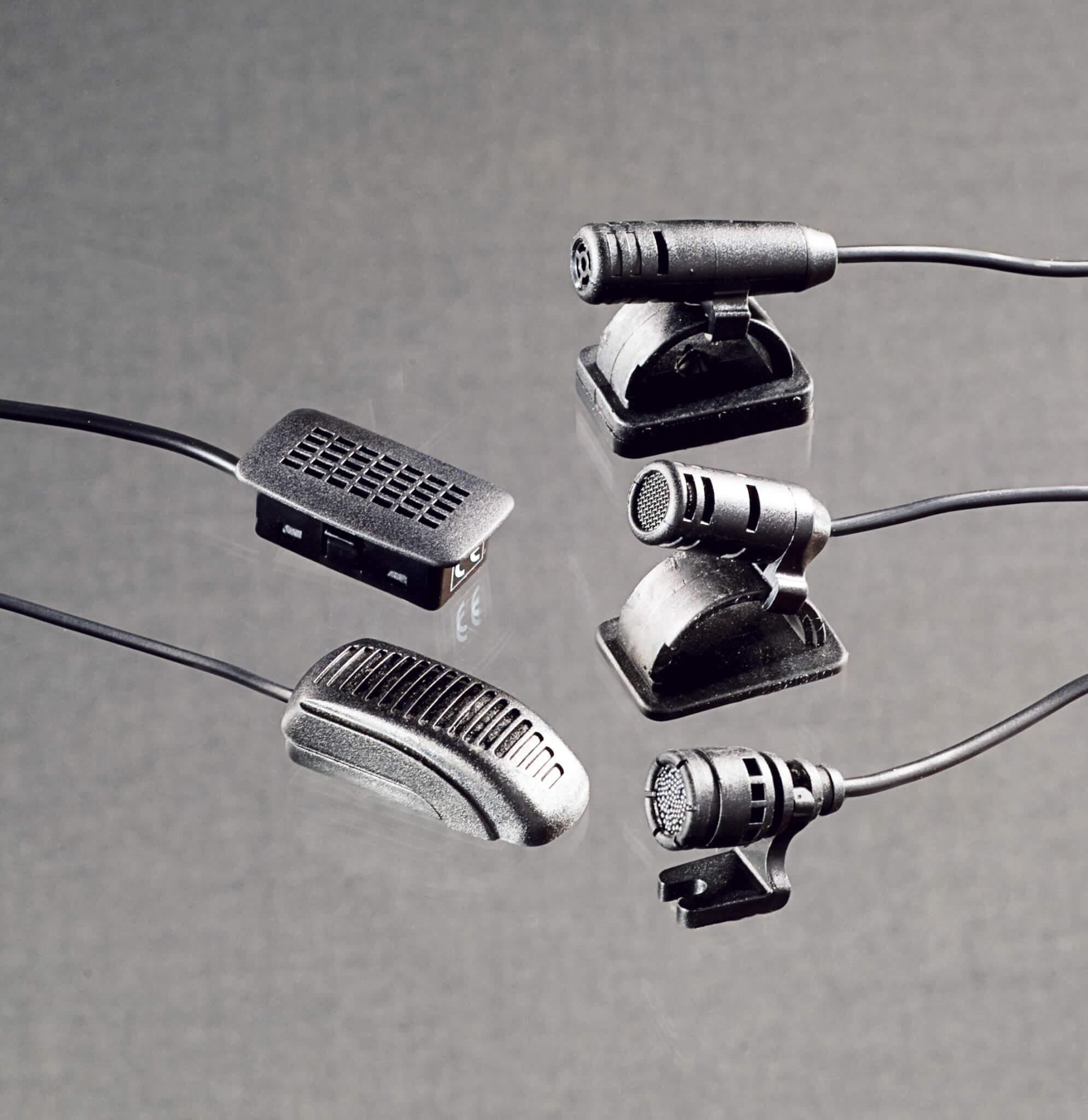 pei tel Handsfree Microphones