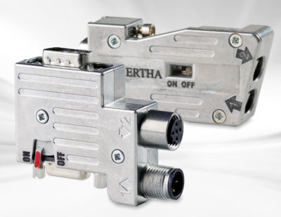 Provertha Profibus Connectors for Rail Projects