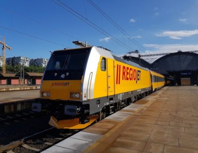 Bombardier TRAXX Locomotives Enter RegioJet Service in the Czech Republic