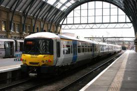 Thameslink Train at Station