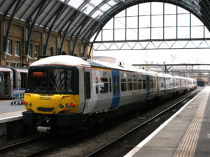 Thameslink Train at Station