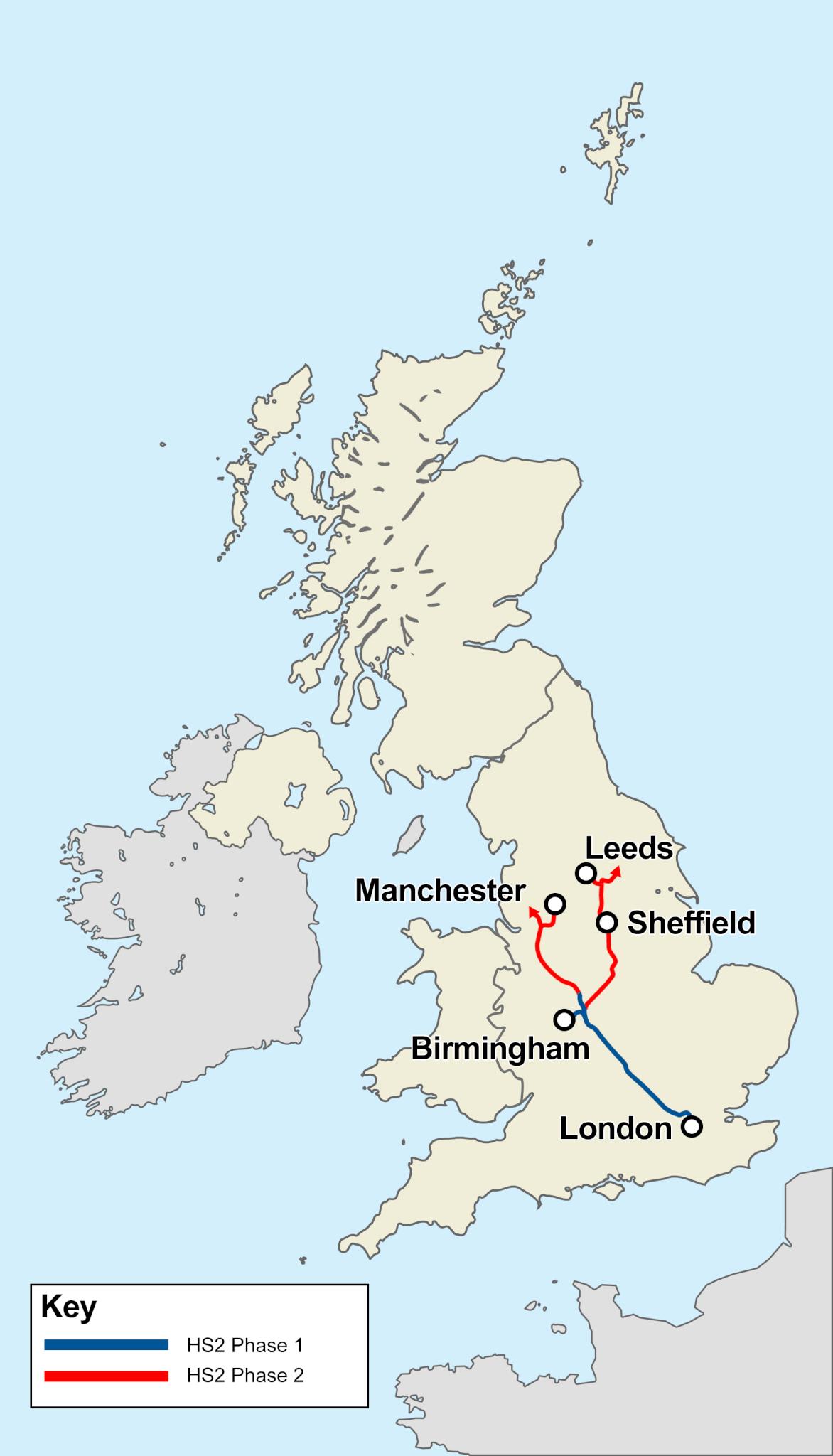 Current HS2 plans