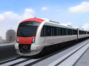 Bangkok's Suburban Train will Boost its Capacity by up to 40% with Thales