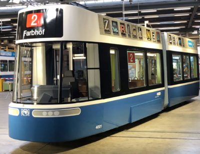 Bombardier Unveils New FLEXITY Tram Design for Zurich