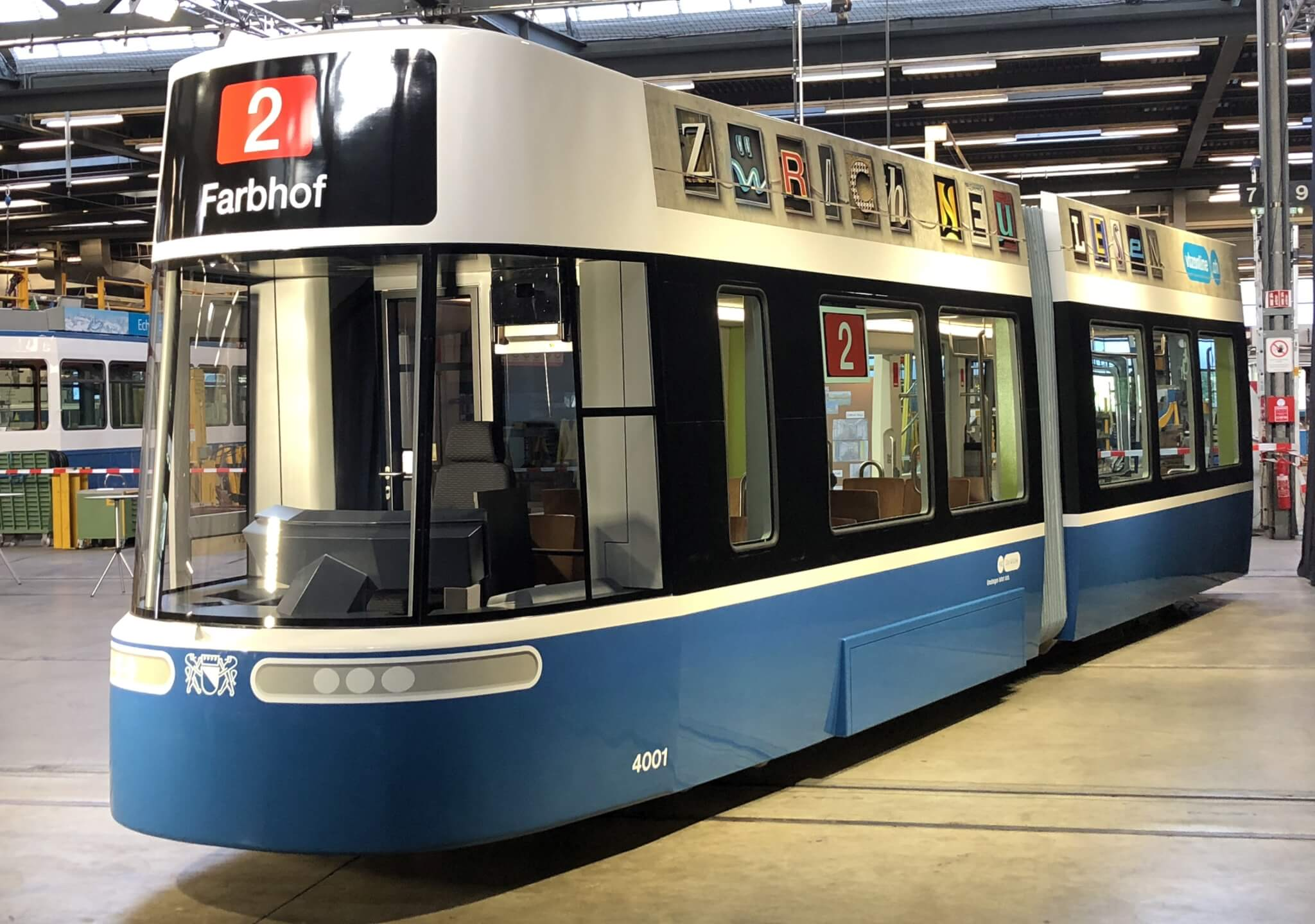 Bombardier FLEXITY tram introduced in Zurich