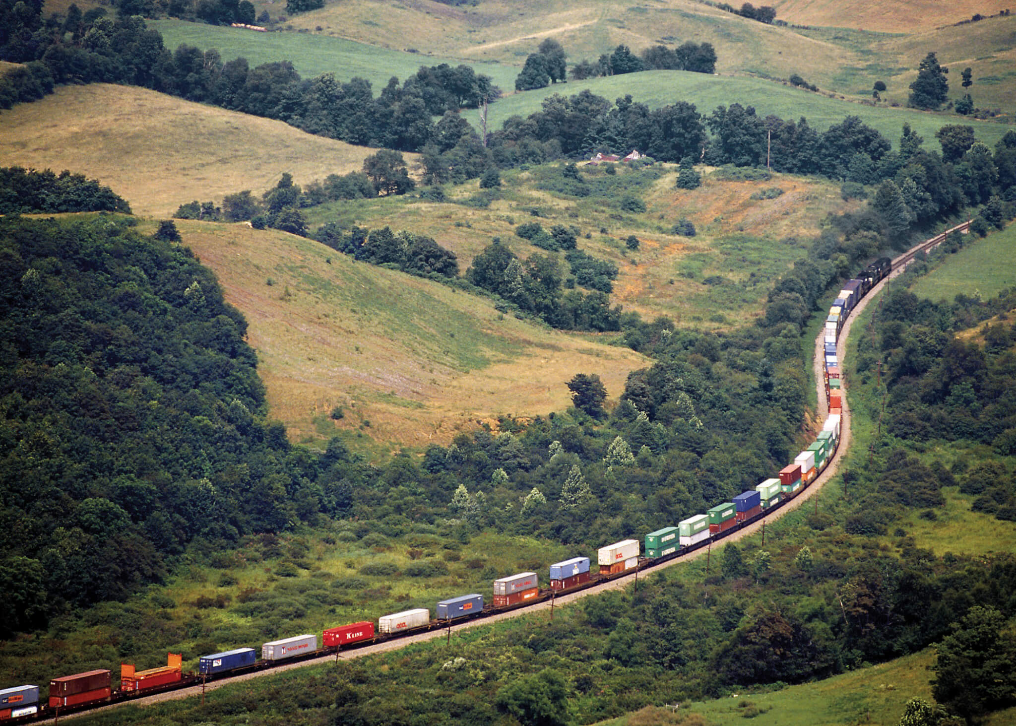 Freight Train in the US