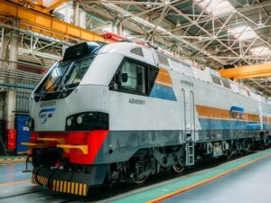 Freight Locomotive for Kazakhstan