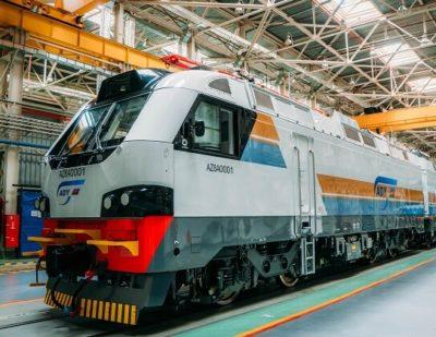 Alstom Reveals First Electric Locomotive for Azerbaijan Railways Order