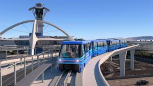 Bombardier Win Contract for Automated People Mover System at L.A.X.