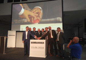 New Bombardier Assembly Hall Opens in Saxony, Germany