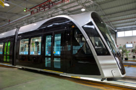 Tram by CAF