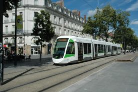 Urbos tram for Nantes