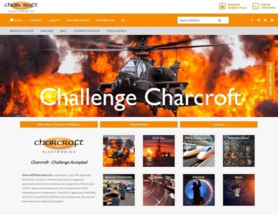 Charcroft Launches New Website for Harsh and High-End Applications