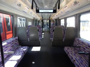 Crossrail train interior