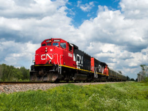 Canadian National Freight Train