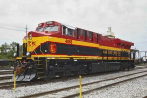 Kansas City Southern-GE locomotive
