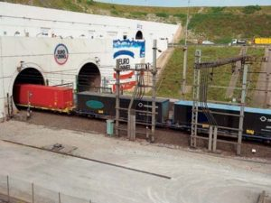 Freight train (Eurotunnel)