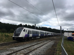 Bombardier train for Elizabeth Line