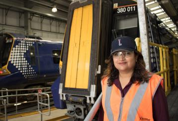 Syeda Ghufran, Engineering Director, Scotrail