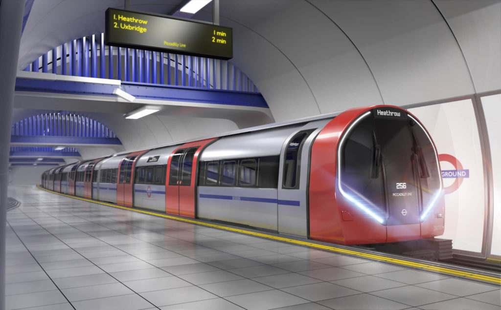 Deep Tube Upgrade Programme: Siemens Train for Piccadilly Line