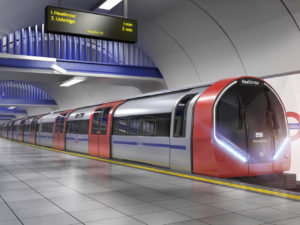 Siemens Train for Piccadilly Line