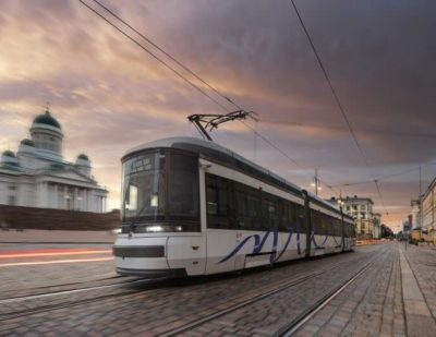 Helsinki City Transport Orders 10 ForCity Smart Artic Trams from Transtech Oy