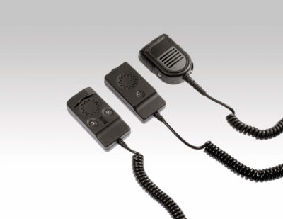 pei tel remote speaker microphones for trains