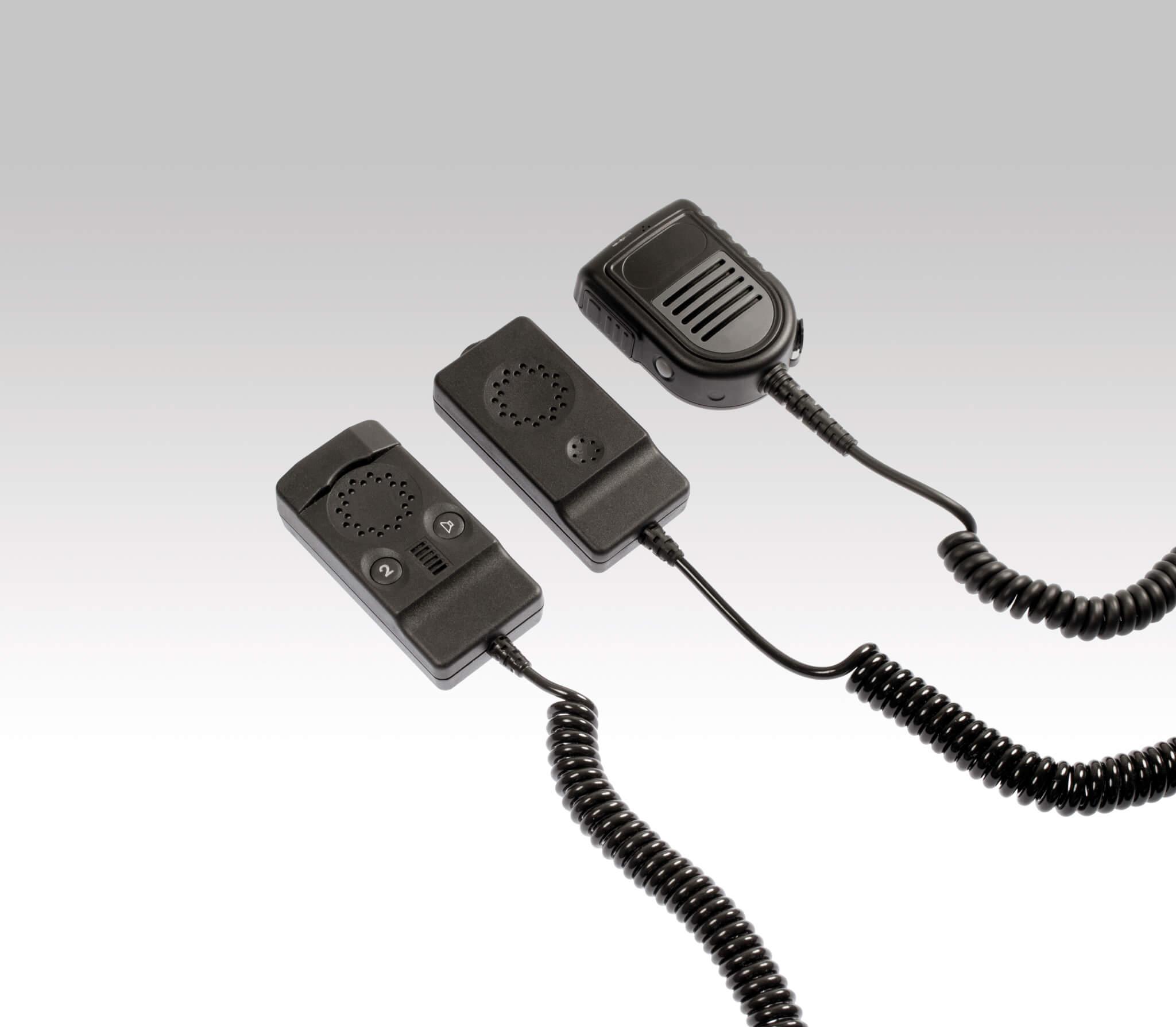 pei tel Remote Speaker Microphones
