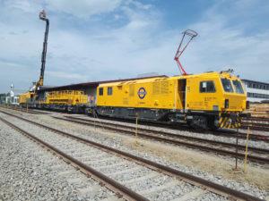 UK: New Maintenance Trains for London's Elizabeth Line