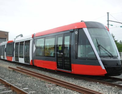 Alstom's Citadis X05 Tram Begins Operations in Nice
