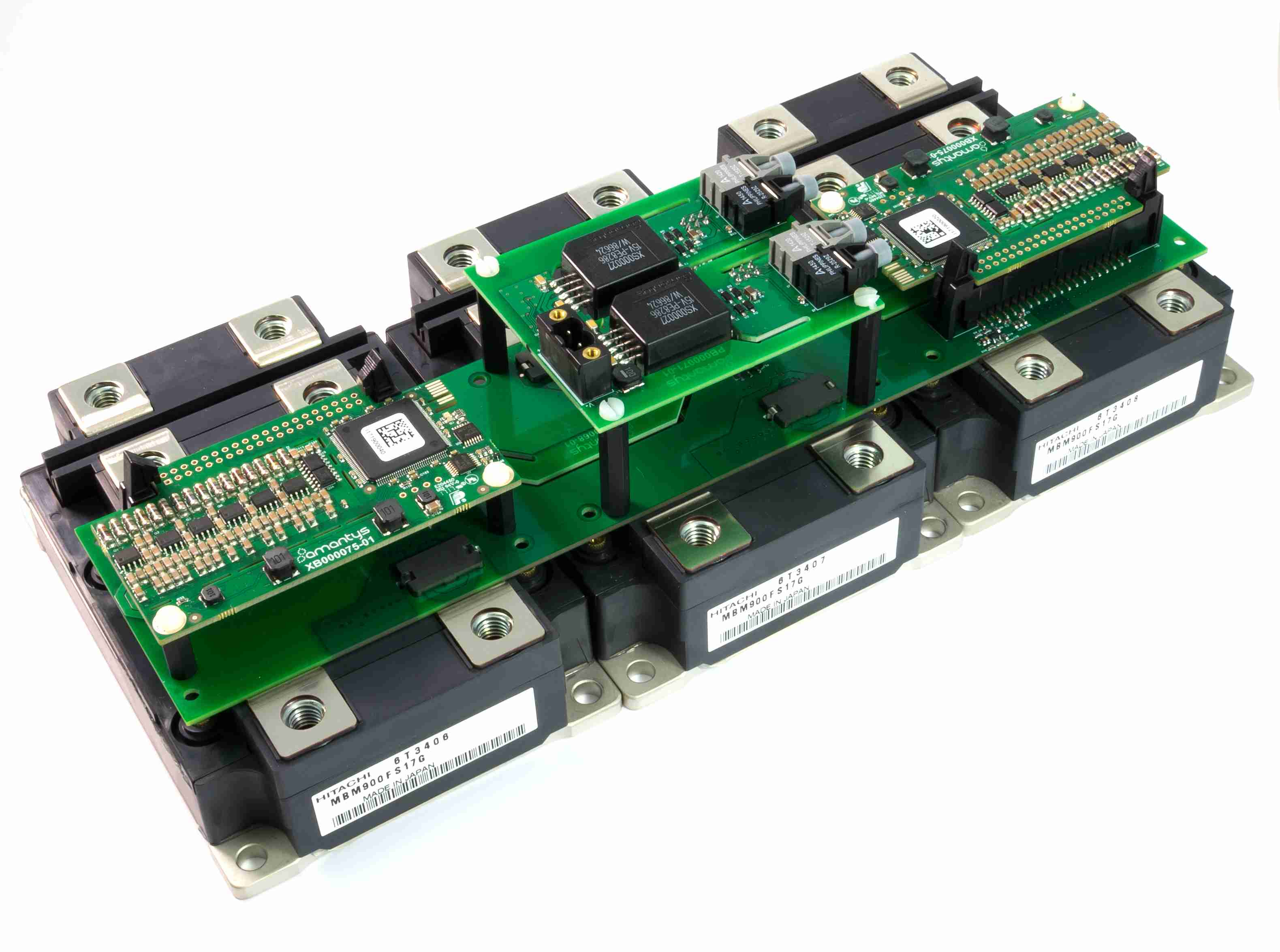 Gate Drive for nHPD2, LV100, XHP and LinPack IGBT modules
