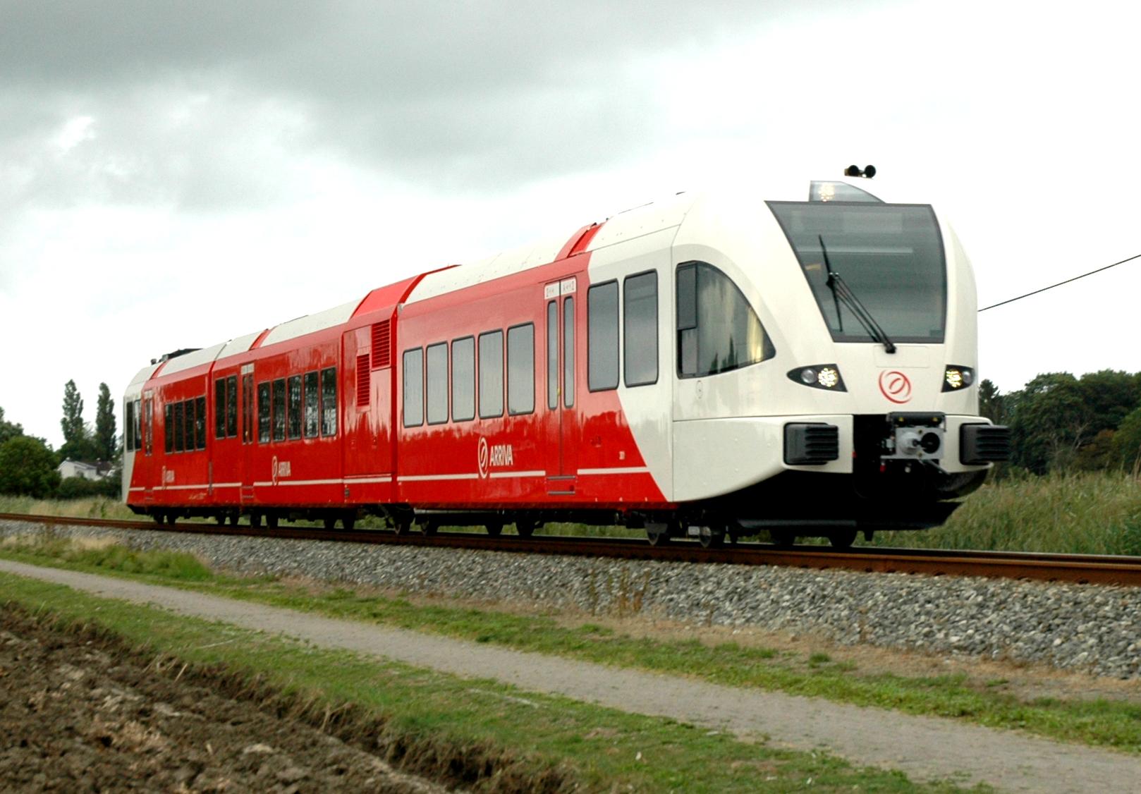 Arriva Nederland Stadler GTW train