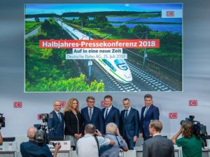 Deutsche Bahn-First Half of 2018 Financial Report