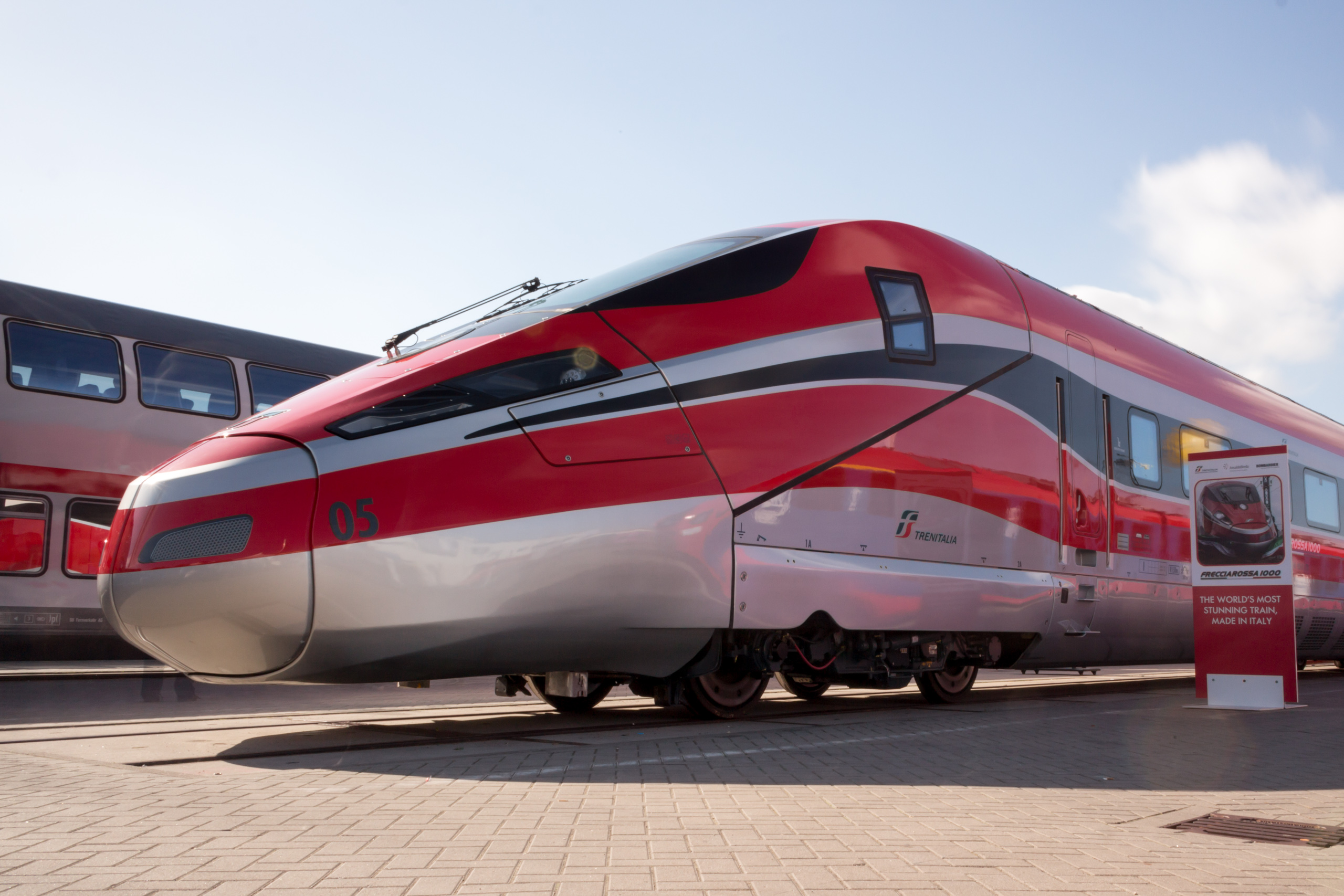 Hitachi Rail and Bombardier bid for HS2 procurement programme. They have worked together on the ETR 1000 for Trenitalia