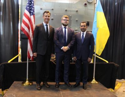 GE Transportation Produces First TE33A Locomotive for Ukrainian Railways