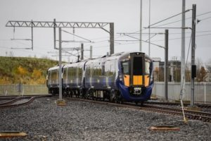 UK: Hitachi Electric Trains Approved for Operation by ScotRail