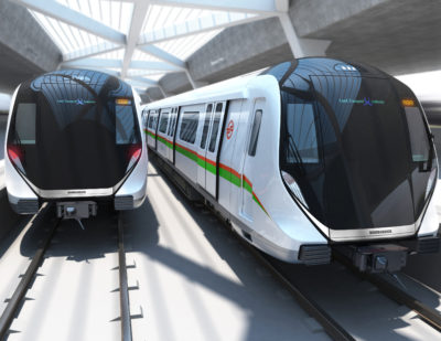 Bombardier to Supply 396 MOVIA Metro Carriages to Singapore