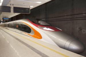 train for the Guangzhou-Shenzhen-Hong Kong High-Speed Rail service