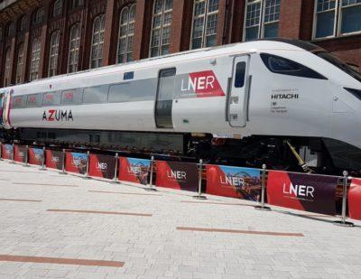 UK: Hitachi Building Azuma Trains for London North Eastern Railway