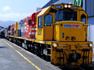 KiwiRail freight train