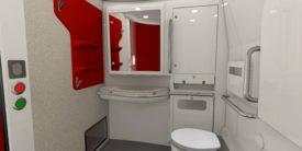 New Acela Express toilet