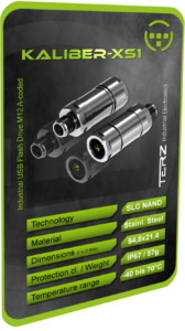 TERZ Industrial M12 USB Flash Drives